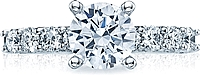 Tacori Prong-Set Diamond Engagement Ring