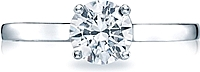 Tacori Round Brilliant Cut Solitaire Diamond Engagement Ring