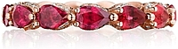 Tacori Royal-T Ruby Diamond Eternity Band