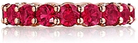 Tacori Royal-T Ruby Eternity Band