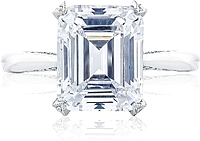 Tacori RoyalT Solitaire Setting with Diamond Accents
