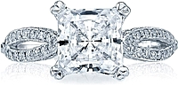 Tacori Split Shank Diamond Engagement Ring