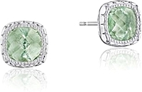 Tacori Sterling Silver Prasiolite Earrings