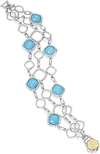 Tacori Sterling Silver Turquoise Bracelet