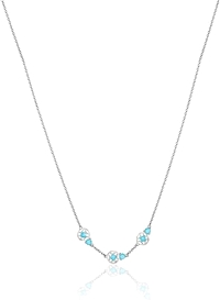 Tacori Sterling Silver Turquoise Necklace