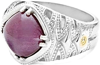 Tacori18K925 African Ruby Ring