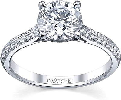 4f90b22e83993 Vatche Caroline Pave Diamond Engagement Ring