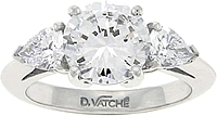 Vatche Pear Shape Diamond Engagement Ring .60ct tw