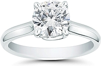 Vatche Sisley Solitaire Engagement Ring