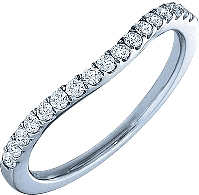 Verragio Curved Diamond Wedding Band 0 Reviews Write A Review Photo Gallery