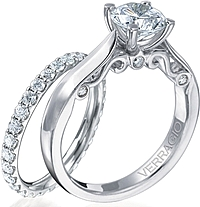 Verragio Engagement Ring with Diamond Detail