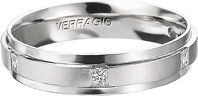Verragio Men S Diamond Wedding Band Vwd 5924