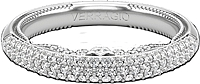 Verragio Pave Set Diamond Wedding Band