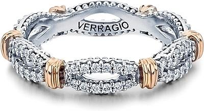 Verragio Wedding Bands.Verragio Twist Diamond Wedding Band