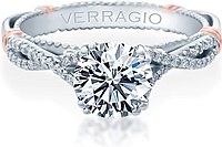 Verragio Twist Engagement Ring